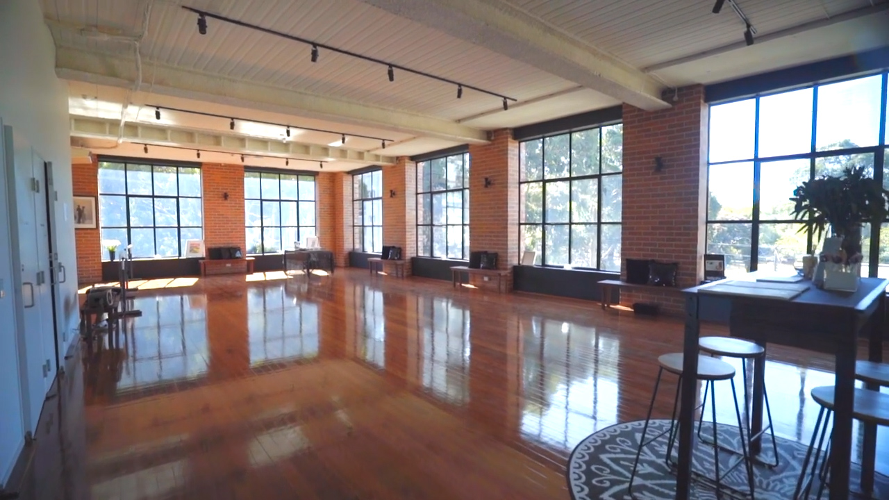 Spread out over two large levels with lift access, our dance & fitness studio has ample space to accommodate large group classes.