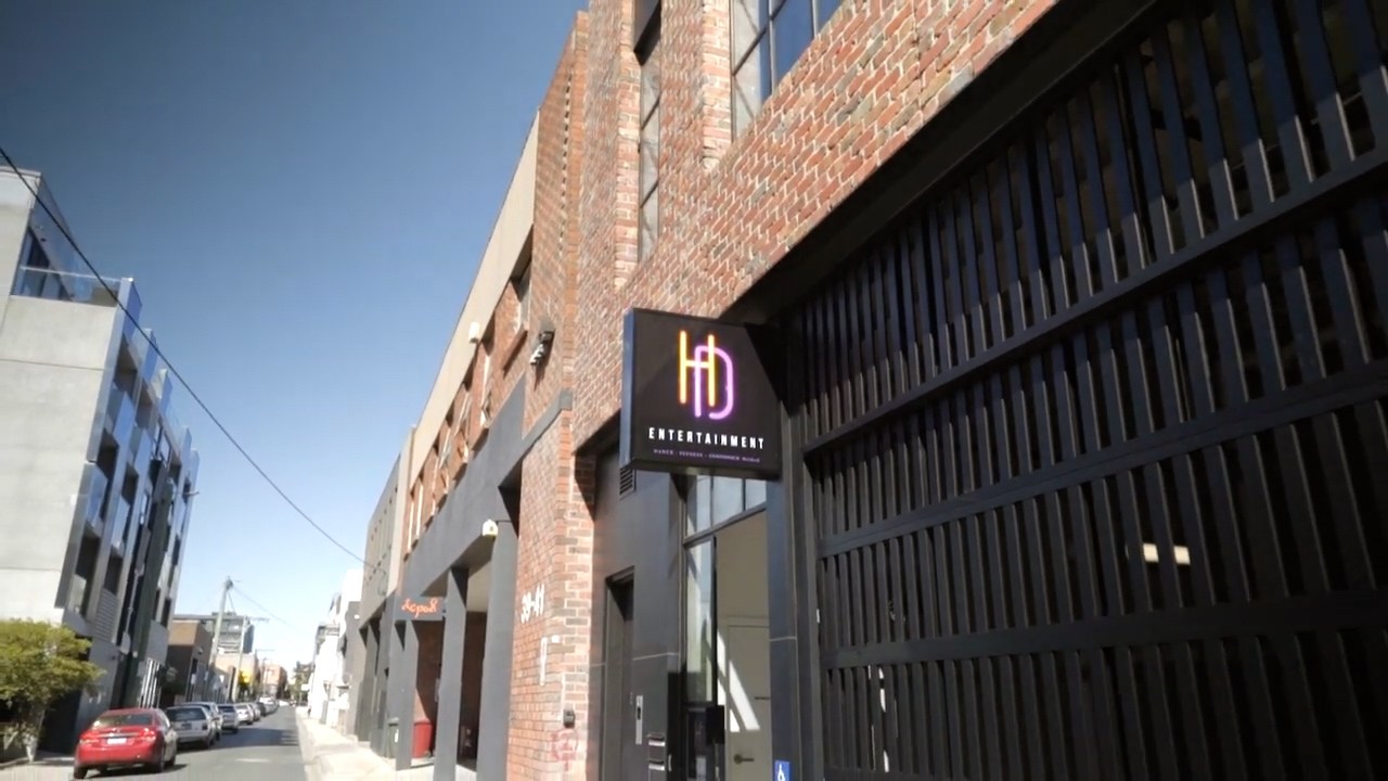 HD Entertainment's fully equipped dance & fitness studio is located on Levels 2 & 3, 34 King Street, Prahran VIC 3181. Nestled just behind the corner of Chapel Street and High Street, our studio is only a few minutes walk from #6 and #78 tram route stops.